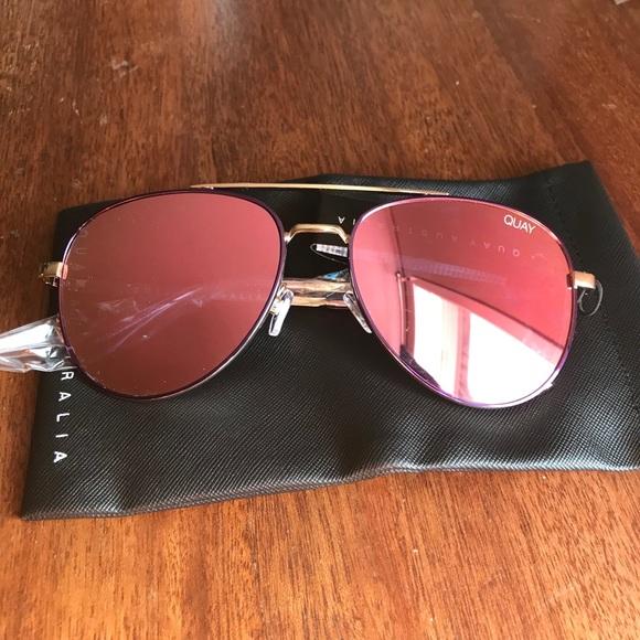 QUAY || Single Purple/Light Pink sunglasses